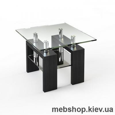 Купить Журнальный стол ESCADO JTS 004 верх прозрачный; низ нанесение рисунка, узора, фотопечати или заливка цветом. Фото