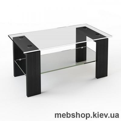 Купить Журнальный стол ESCADO JTS 007 верх нанесение рисунка, узора, фотопечати или заливка цветом; низ прозрачный. Фото