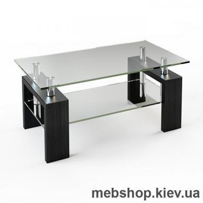 Купить Журнальный стол ESCADO JTS 008 верх нанесение рисунка, узора, фотопечати или заливка цветом; низ прозрачный. Фото