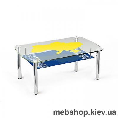 Купить Журнальный стол стеклянный ESCADO JTS 014 прозрачный. Фото