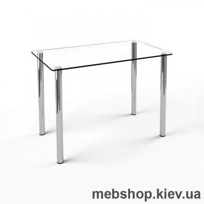 Купить Обеденный стол стеклянный ESCADO S1 прозрачный. Фото