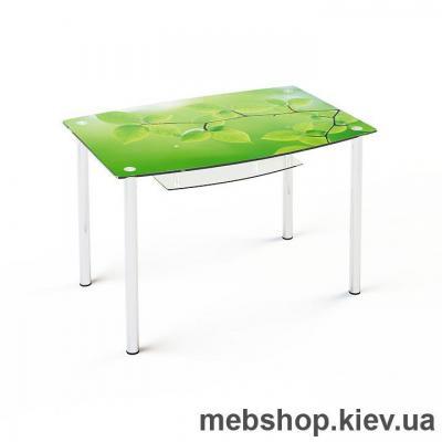 Обеденный стол стеклянный ESCADO S2 верх нанесение рисунка, узора, фотопечати или заливка цветом; низ матовый