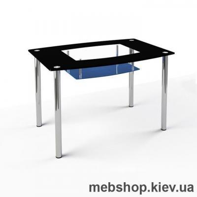 Обеденный стол стеклянный ESCADO S2 нанесение рисунка, узора, фотопечати или заливка цветом столешницы и полки