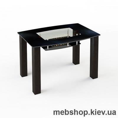Купить Обеденный стол стеклянный ESCADO SW12 нанесение рисунка, узора, фотопечати или заливка цветом столешницы и полки. Фото