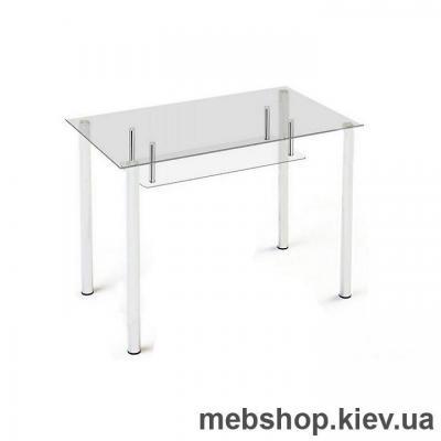 Купить Обеденный стол стеклянный ESCADO S3 прозрачный. Фото