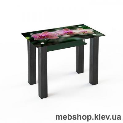 Купить Обеденный стол стеклянный ESCADO SW3 нанесение рисунка, узора, фотопечати или заливка цветом столешницы и полки. Фото