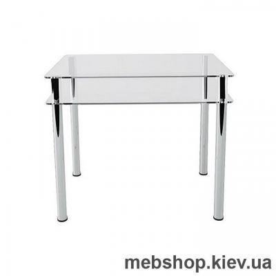 Купить Обеденный стол стеклянный ESCADO S4 прозрачный. Фото