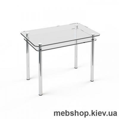 Обеденный стол стеклянный ESCADO S5 прозрачный