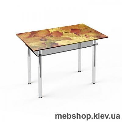 Купить Обеденный стол стеклянный ESCADO S6 верх нанесение рисунка, узора, фотопечати или заливка цветом; низ матовый. Фото