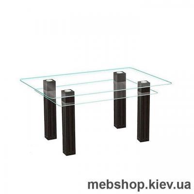 Купить Обеденный стол стеклянный ESCADO SW6 прозрачный. Фото