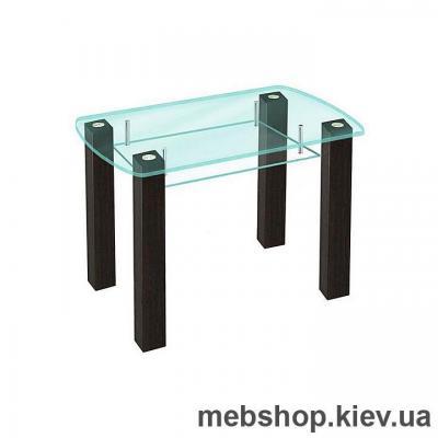 Купить Обеденный стол стеклянный ESCADO SW17 прозрачный. Фото