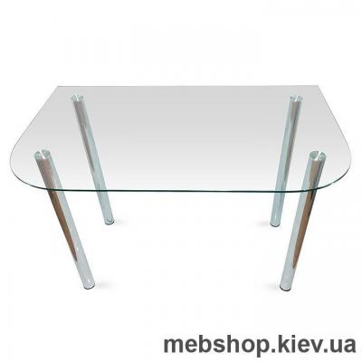 Купить Обеденный стол стеклянный ESCADO A1 прозрачный. Фото