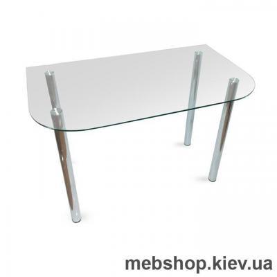 Обеденный стол стеклянный ESCADO A1 прозрачный