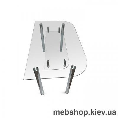 Купить Обеденный стол стеклянный ESCADO A2 матовый. Фото