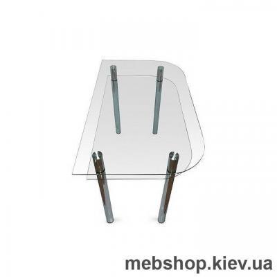 Обеденный стол стеклянный ESCADO A3 прозрачный