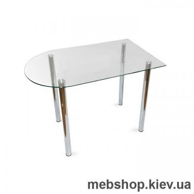 Купить Обеденный стол стеклянный ESCADO A4 прозрачный. Фото