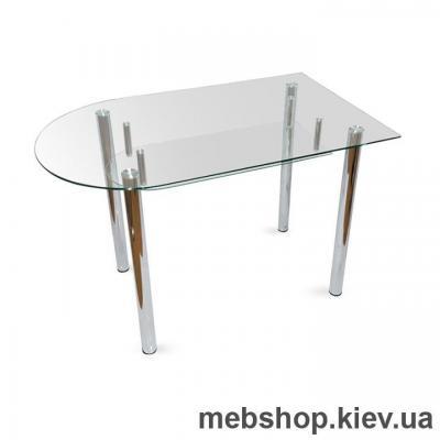Купить Обеденный стол стеклянный ESCADO A5 матовый. Фото