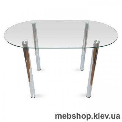 Купить Обеденный стол стеклянный ESCADO A7 прозрачный. Фото