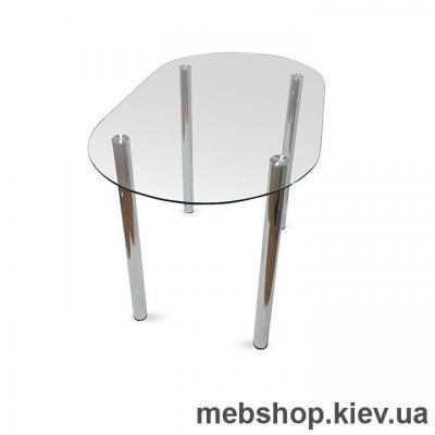 Обеденный стол стеклянный ESCADO A7 прозрачный