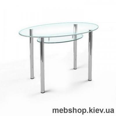 Купить Обеденный стол стеклянный ESCADO O1 прозрачный. Фото