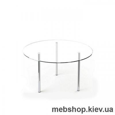 Купить Обеденный стол стеклянный ESCADO R1 прозрачный. Фото
