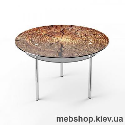 Обідній стіл скляний ESCADO R2 верх нанесення малюнку, візерунку, фотодруку або заливка кольором; низ матований