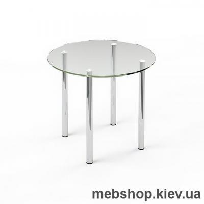Купить Обеденный стол стеклянный ESCADO R3 прозрачный. Фото