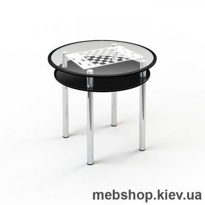Купить Обеденный стол стеклянный ESCADO R4 нанесение рисунка, узора, фотопечати или заливка цветом столешницы и полки. Фото