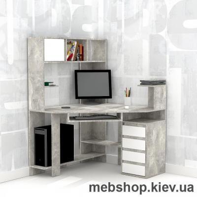 Купить Компьютерный стол FLASHNIKA Флеш 33 Бетон, Нимфея альба. Фото