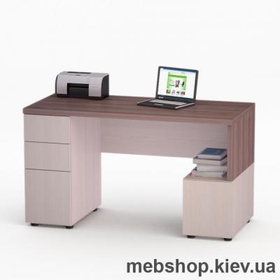Купить Компьютерный стол FLASHNIKA Мокос-9 Лимберг, Коимбра. Фото