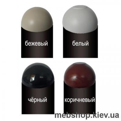 Кровать металлическая Шарлотта цвет белый; черная медь; коричневый; черное золото (Металл-Дизайн)