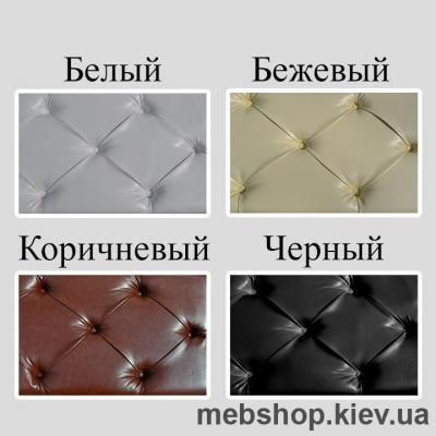 Кровать металлическая Белла цвет бежевый; белый бархат; белый (Металл-Дизайн)