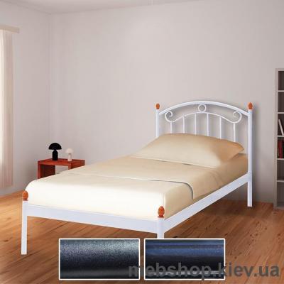 Купить Кровать металлическая Монро мини цвет черный бархат; черный (Металл-Дизайн). Фото