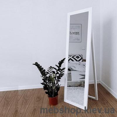 """Купить Зеркало напольное в деревянной раме """"HomeDeco"""" белое. Фото"""