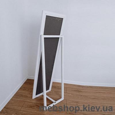 """Зеркало напольное в деревянной раме """"HomeDeco"""" белое"""