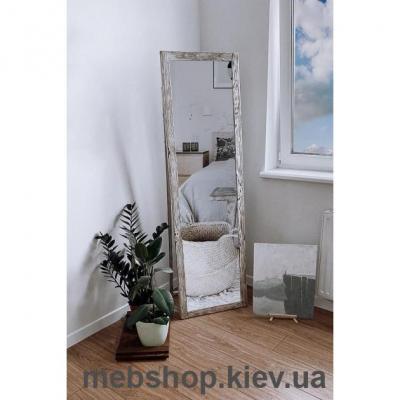 """Зеркало напольное в деревянной раме """"HomeDeco"""" под старину"""