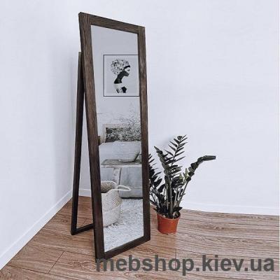 """Купить Зеркало напольное в деревянной раме """"HomeDeco"""" темно-коричневое. Фото"""