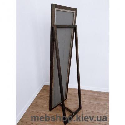 """Зеркало напольное в деревянной раме """"HomeDeco"""" темно-коричневое"""
