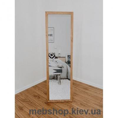 """Зеркало напольное в деревянной раме """"HomeDeco"""" светло-коричневое"""