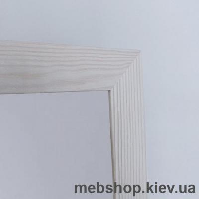 """Зеркало напольное в деревянной раме """"HomeDeco"""" сосна белая"""