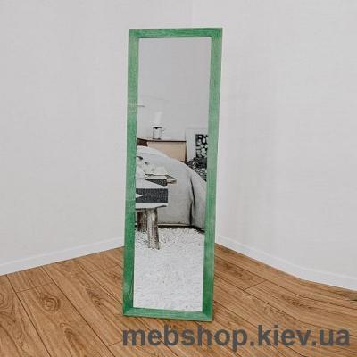 """Купить Зеркало напольное в деревянной раме """"HomeDeco"""" зеленое. Фото"""