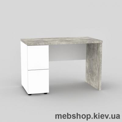 Компьютерный стол FLASHNIKA Мокос-8 Бетон, Нимфея Альба