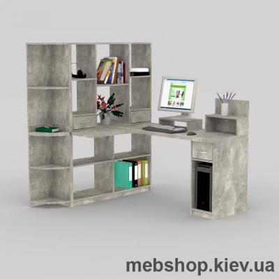 Купить Компьютерный стол FLASHNIKA Мокос-23 Бетон. Фото