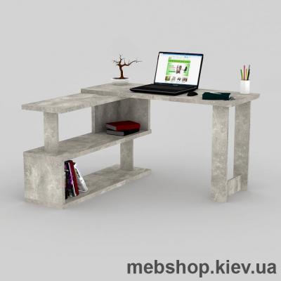 Купить Компьютерный стол FLASHNIKA Мокос-34 Бетон. Фото