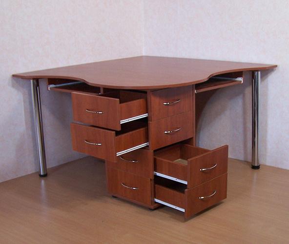 Купить компьютерный стол для двоих. двойной компьютерный сто.