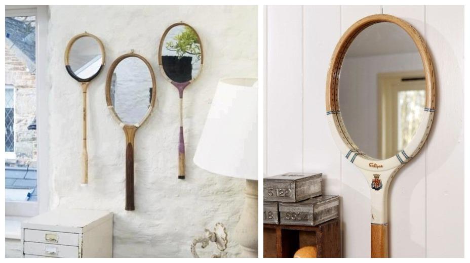 теннисные ракетки как зеркало фото