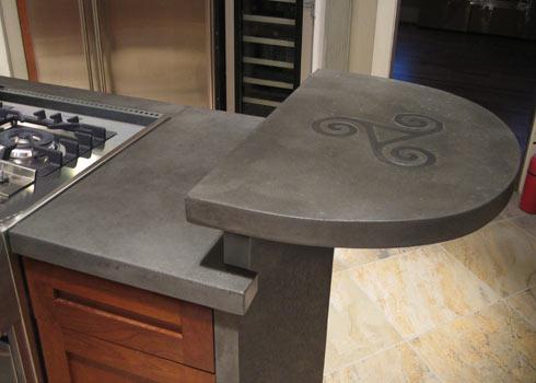 бетонная столешница