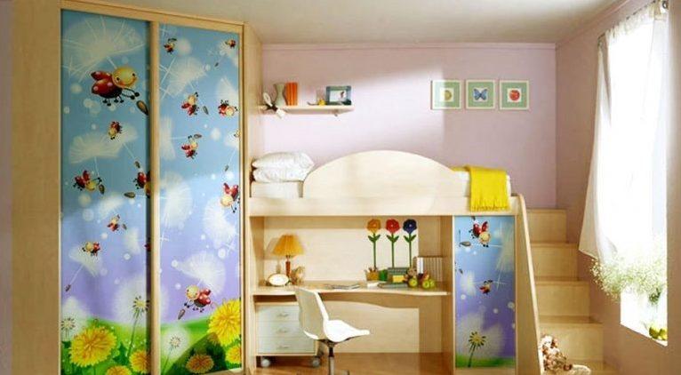 фото шкаф в комнату для ребенка
