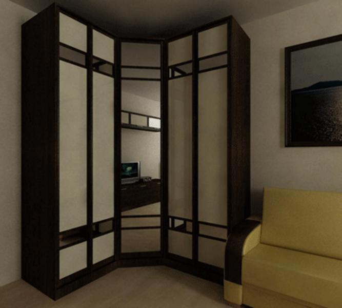 угловой шкаф купе в гостиную фото цены купить шкаф угловой для
